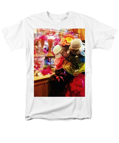 kentucky Derby Hats Men's T-Shirt  (Regular Fit) by Robin Regan