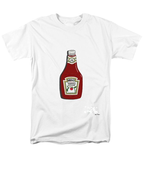 Ketchup Men's T-Shirt  (Regular Fit) by George Pedro