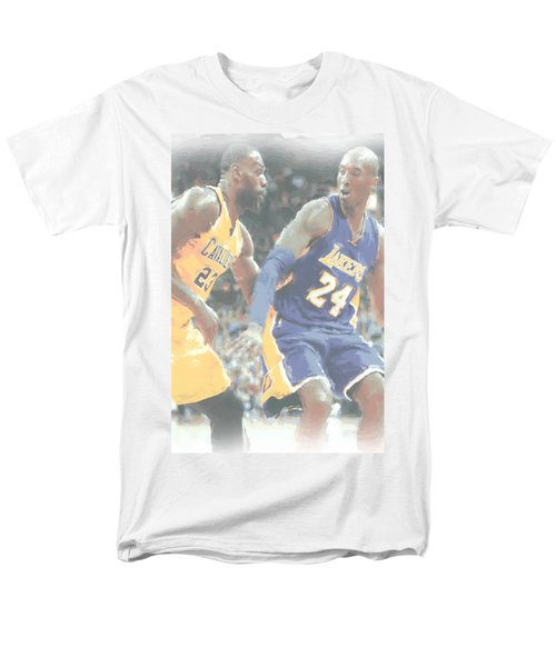 Kobe Bryant Lebron James 2 Men's T-Shirt  (Regular Fit) by Joe Hamilton