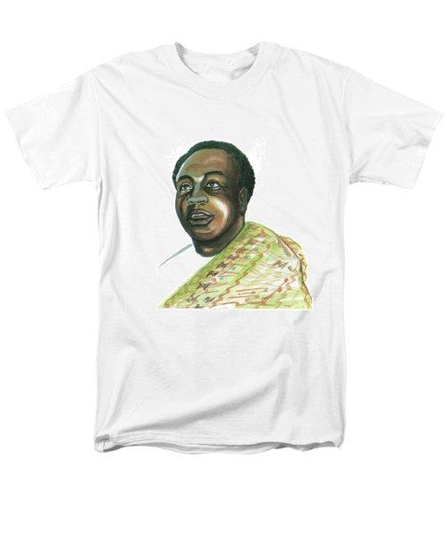Kwame Nkrumah Men's T-Shirt  (Regular Fit) by Emmanuel Baliyanga