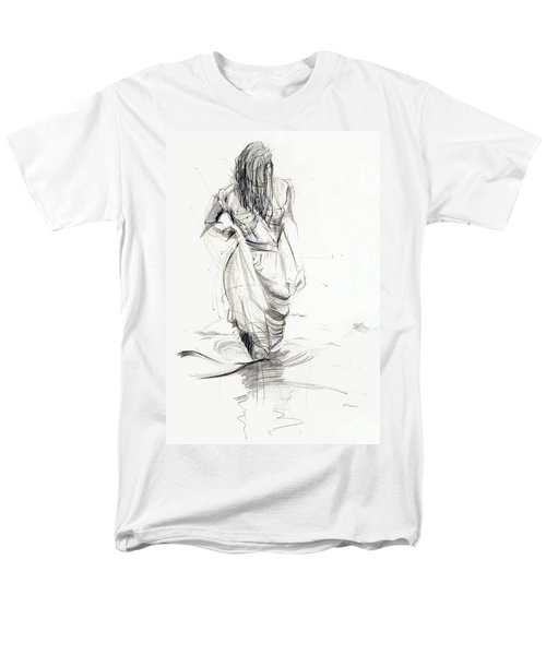 Lady In The Waters Men's T-Shirt  (Regular Fit)