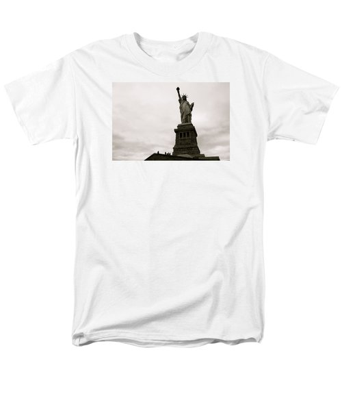 Lady Liberty Men's T-Shirt  (Regular Fit) by Mark Nowoslawski