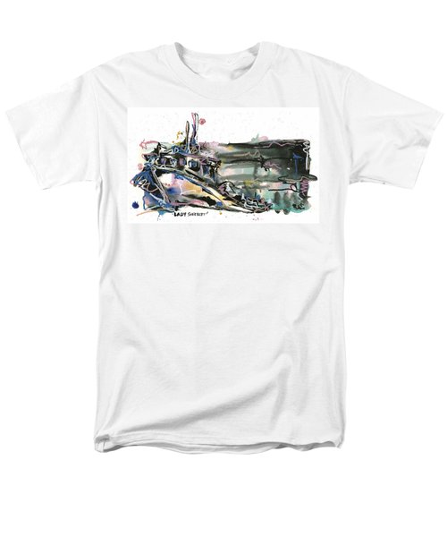 Men's T-Shirt  (Regular Fit) featuring the painting Lady Sherbert by Robert Joyner