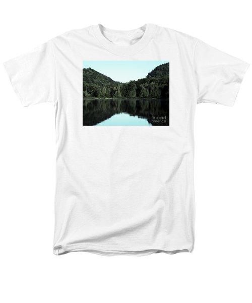 Lake Landscape Men's T-Shirt  (Regular Fit) by France Laliberte