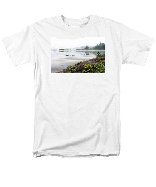 Lake Superior Men's T-Shirt  (Regular Fit) by Ed Hall