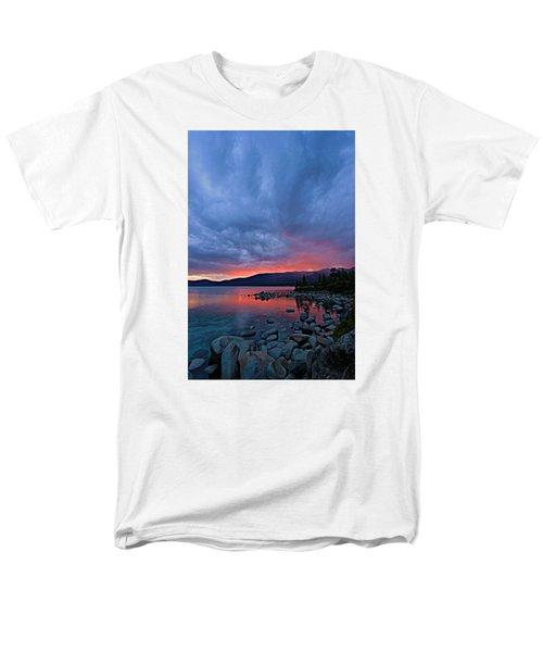 Lake Tahoe Sunset Portrait 2 Men's T-Shirt  (Regular Fit) by Sean Sarsfield
