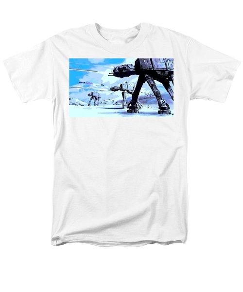 Land Battle Men's T-Shirt  (Regular Fit) by George Pedro