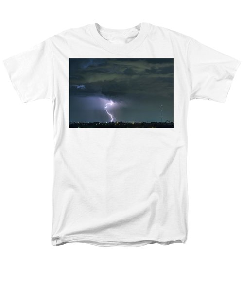Men's T-Shirt  (Regular Fit) featuring the photograph Landing In A Storm by James BO Insogna
