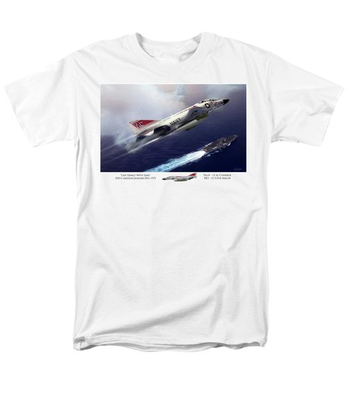 Last Dance With Sara Men's T-Shirt  (Regular Fit) by Peter Chilelli
