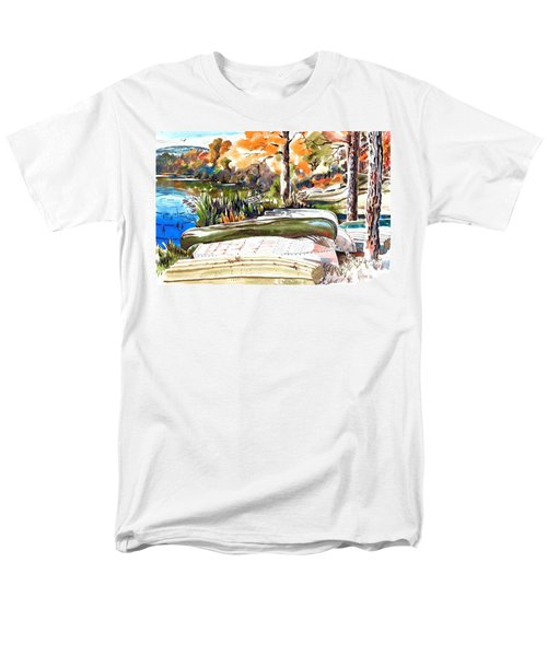 Last Summer In Brigadoon Men's T-Shirt  (Regular Fit) by Kip DeVore
