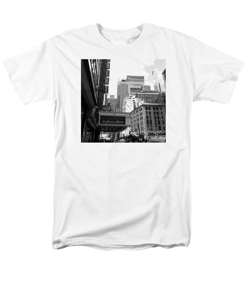 Late Show Nyc Men's T-Shirt  (Regular Fit) by Shelley Overton