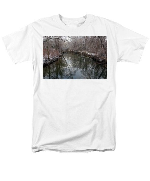 Late Winter In Philly Men's T-Shirt  (Regular Fit) by Dorin Adrian Berbier