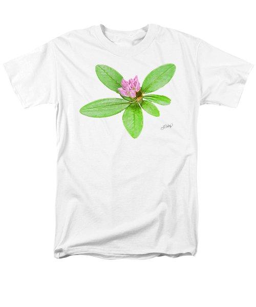 Laurel In Pink Men's T-Shirt  (Regular Fit) by Larry Bishop