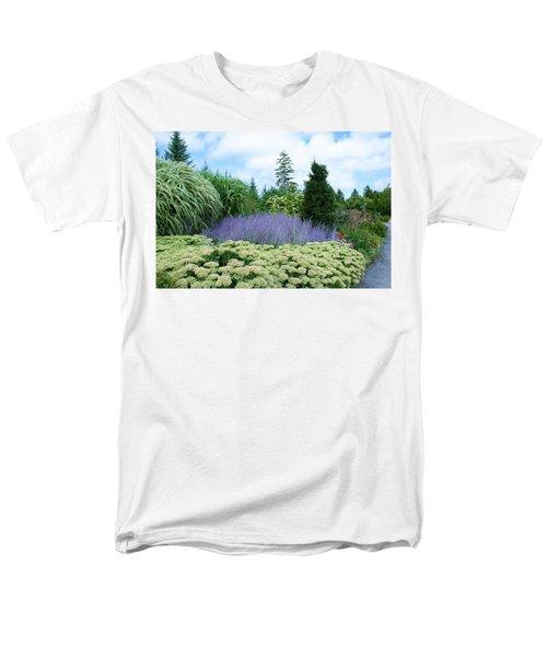 Lavender In The Middle Men's T-Shirt  (Regular Fit)