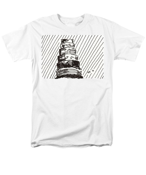 Layer Cake 1 2015 - Aceo Men's T-Shirt  (Regular Fit) by Joseph A Langley