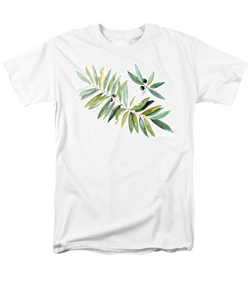 Leaves And Berries Men's T-Shirt  (Regular Fit) by Laurie Rohner