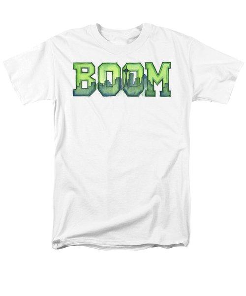 Legion Of Boom Men's T-Shirt  (Regular Fit) by Olga Shvartsur