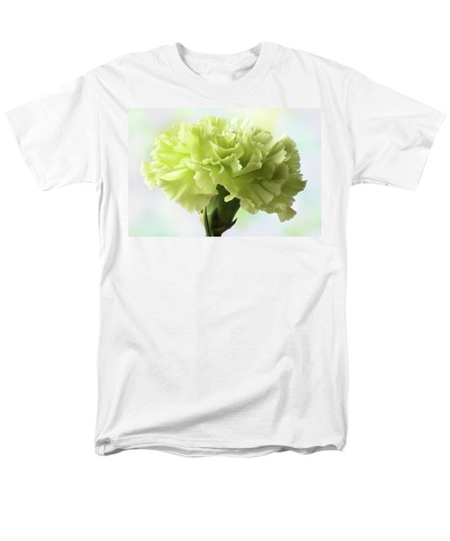 Men's T-Shirt  (Regular Fit) featuring the photograph Lemon Carnation by Terence Davis