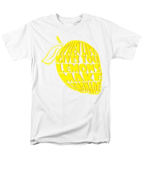 Lemonade Men's T-Shirt  (Regular Fit) by Priscilla Wolfe