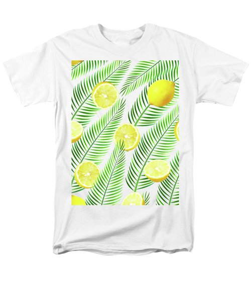 Lemons Men's T-Shirt  (Regular Fit) by Uma Gokhale
