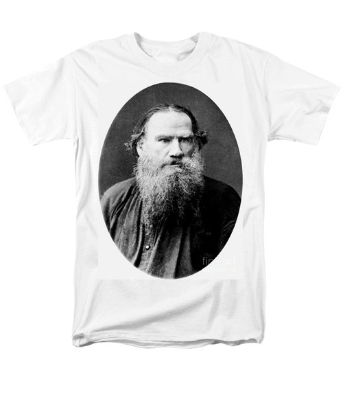 Men's T-Shirt  (Regular Fit) featuring the photograph Leo Tolstoy by Pg Reproductions