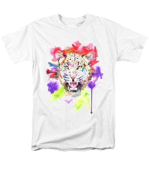 Leopard Men's T-Shirt  (Regular Fit) by Isabel Salvador