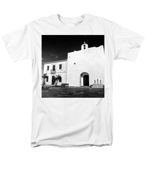 Fortified Church, Formentera Men's T-Shirt  (Regular Fit) by John Edwards