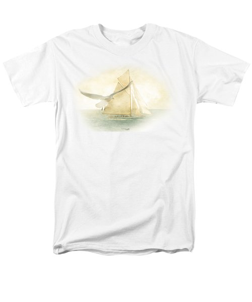 Men's T-Shirt  (Regular Fit) featuring the painting Let Your Spirit Soar by Chris Armytage