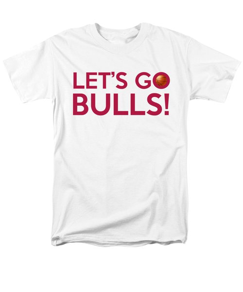 Let's Go Bulls Men's T-Shirt  (Regular Fit) by Florian Rodarte