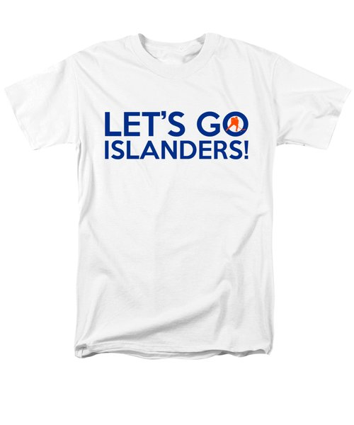Let's Go Islanders Men's T-Shirt  (Regular Fit) by Florian Rodarte