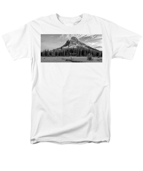 Liberty Mountain At Sunset Men's T-Shirt  (Regular Fit) by Jon Glaser