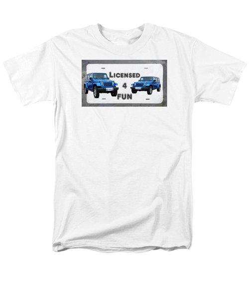 Licensed 4 Fun Men's T-Shirt  (Regular Fit) by David and Lynn Keller