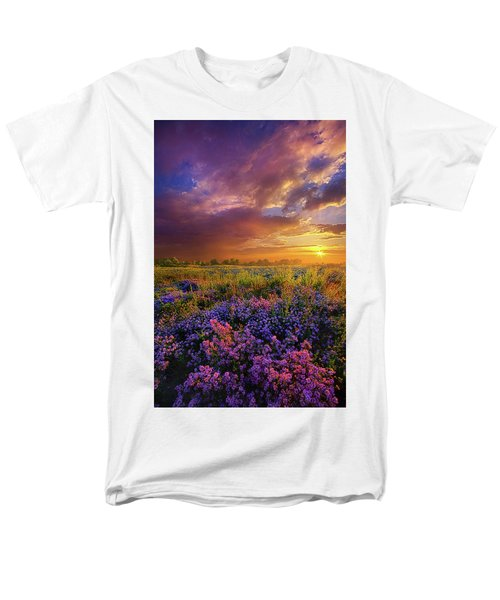 Life Is Measured In Moments Men's T-Shirt  (Regular Fit) by Phil Koch