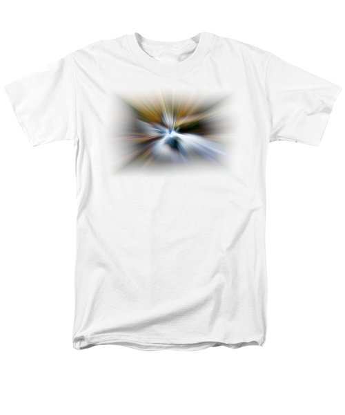 Men's T-Shirt  (Regular Fit) featuring the photograph Light Angels by Debra and Dave Vanderlaan