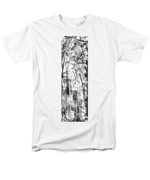 Men's T-Shirt  (Regular Fit) featuring the painting Light by Carol Rashawnna Williams