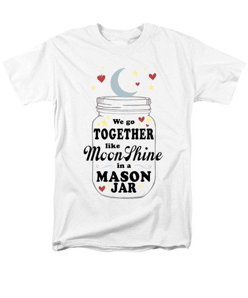 Like Moonshine In A Mason Jar Men's T-Shirt  (Regular Fit)