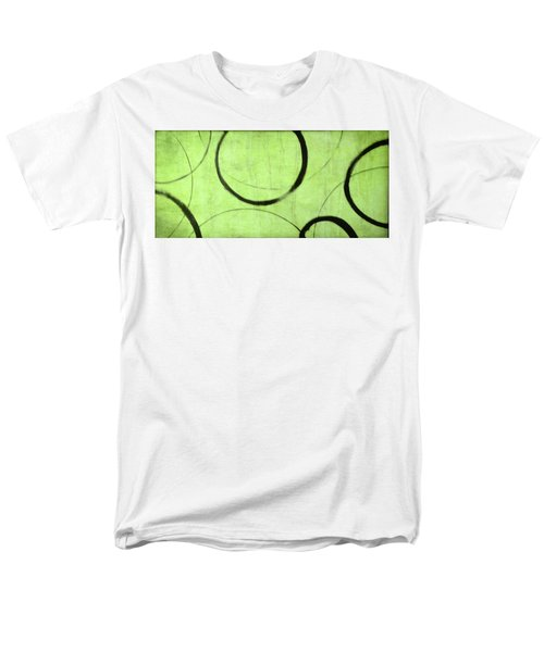 Men's T-Shirt  (Regular Fit) featuring the painting Lime Ensos by Julie Niemela