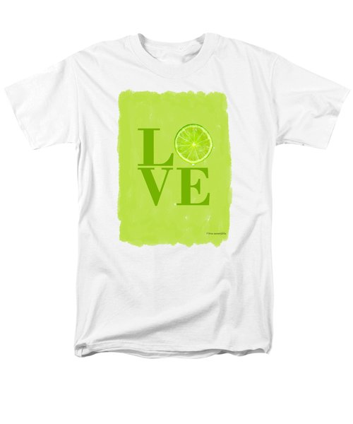 Lime Men's T-Shirt  (Regular Fit) by Mark Rogan