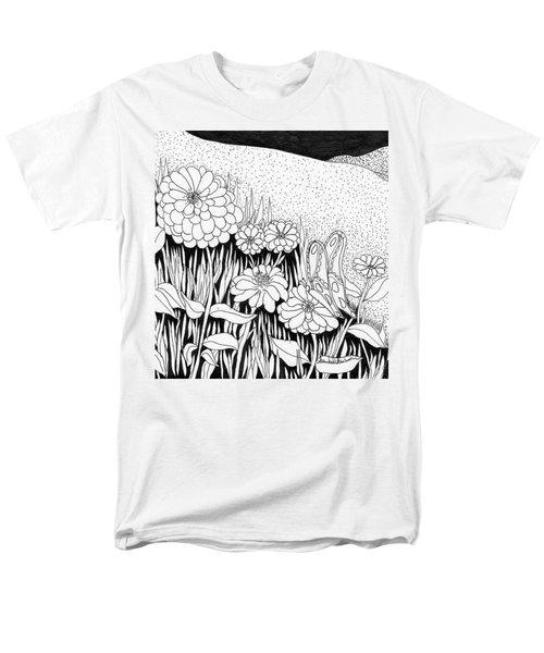 Linda's Garden Men's T-Shirt  (Regular Fit)