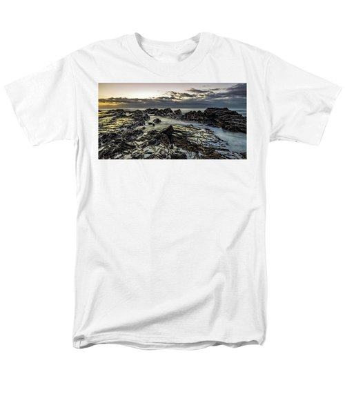 Lines Of Time Men's T-Shirt  (Regular Fit) by Mark Lucey