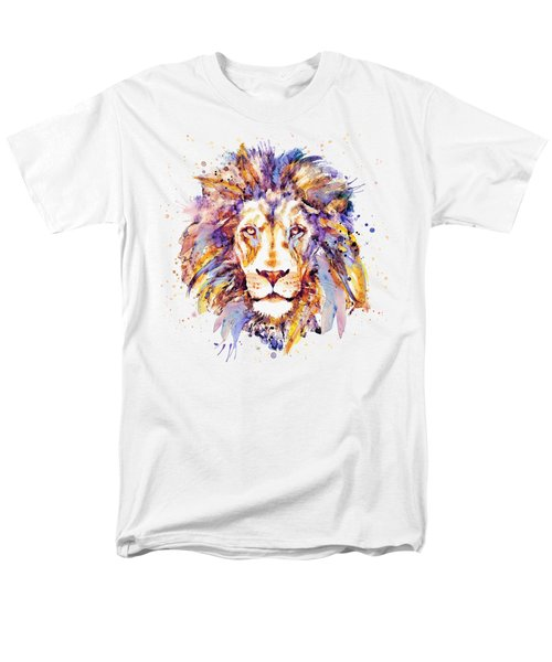 Lion Head Men's T-Shirt  (Regular Fit) by Marian Voicu