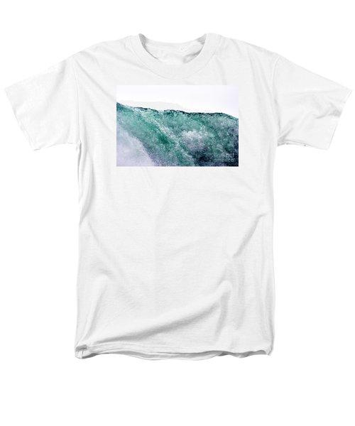 Men's T-Shirt  (Regular Fit) featuring the photograph Liquid Horizon by Dana DiPasquale