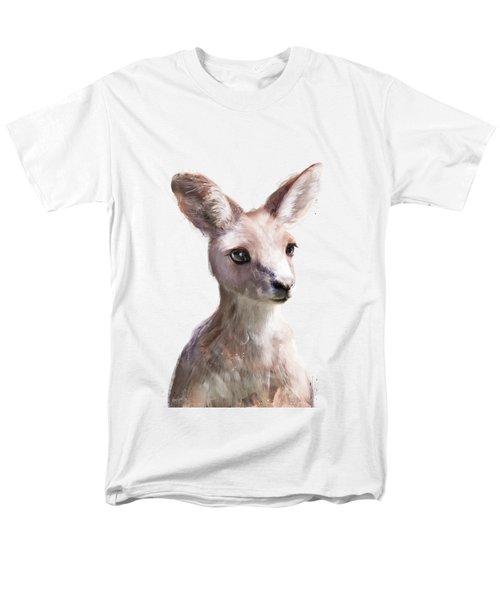 Little Kangaroo Men's T-Shirt  (Regular Fit) by Amy Hamilton