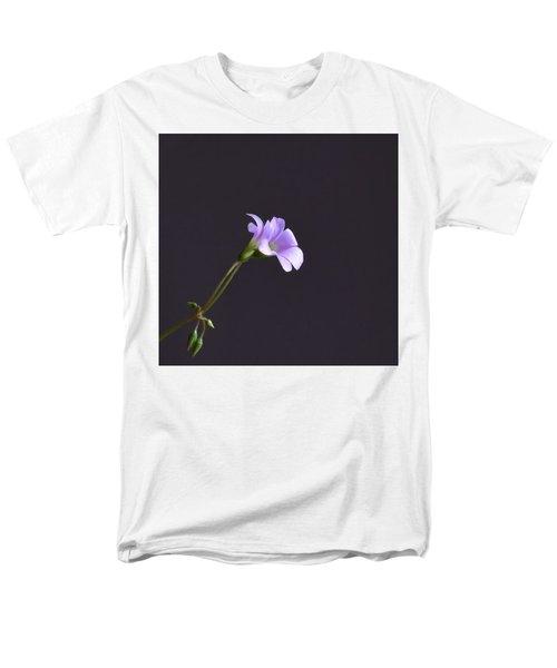 Little Lavender Flowers Men's T-Shirt  (Regular Fit) by Kathy Eickenberg