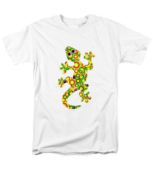 Little Lizard - Animal Art Men's T-Shirt  (Regular Fit) by Anastasiya Malakhova
