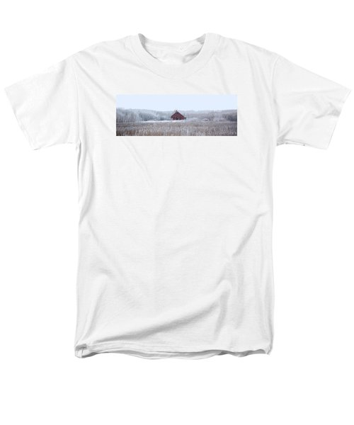 Little Red House Men's T-Shirt  (Regular Fit) by Ellery Russell