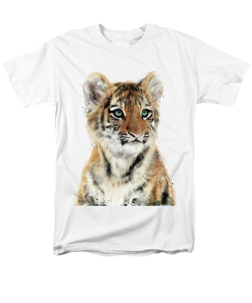Little Tiger Men's T-Shirt  (Regular Fit) by Amy Hamilton