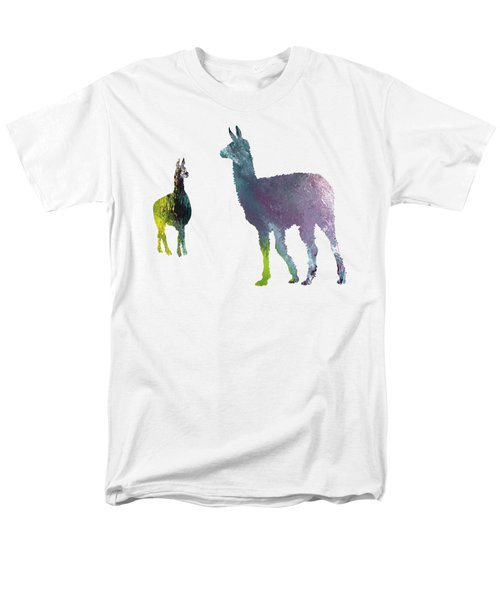 Llama Men's T-Shirt  (Regular Fit) by Mordax Furittus