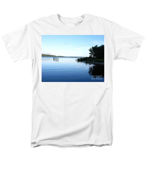 Loch Lomond Men's T-Shirt  (Regular Fit) by Mini Arora