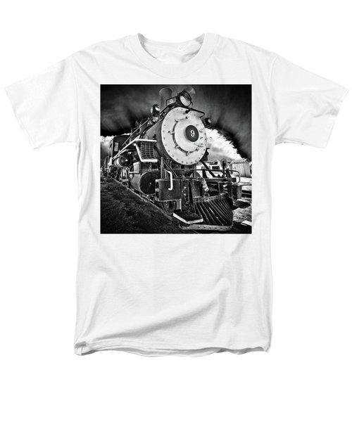 Locomotive Nine Men's T-Shirt  (Regular Fit) by Marius Sipa